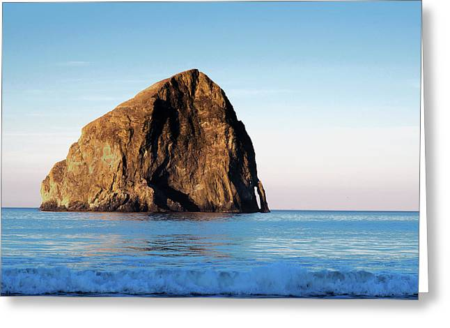 Greeting Card featuring the photograph Pacific City Cape Kiwanda 101618 by Rospotte Photography