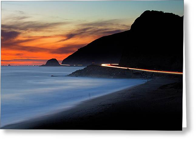 Pacific Coast Highway Greeting Card