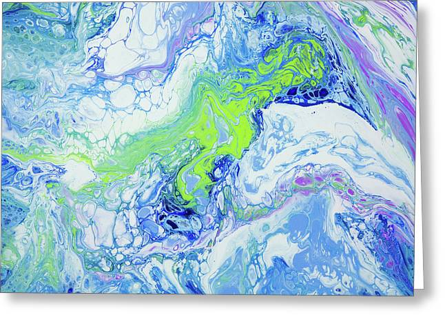 Pacific Storm Coming Greeting Card