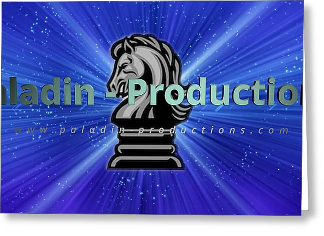 Paladin Productions Logo Greeting Card
