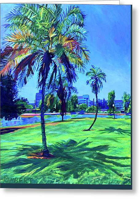 Palm Prints Greeting Card
