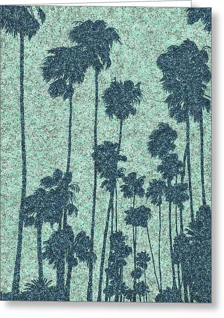 Palms Over Palisades No. 2 Greeting Card