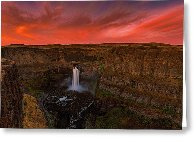 Palouse Falls Greeting Card
