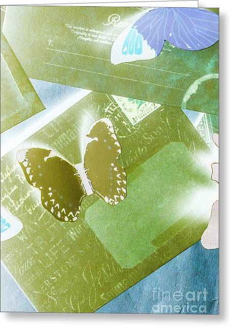Paperwing Post Greeting Card