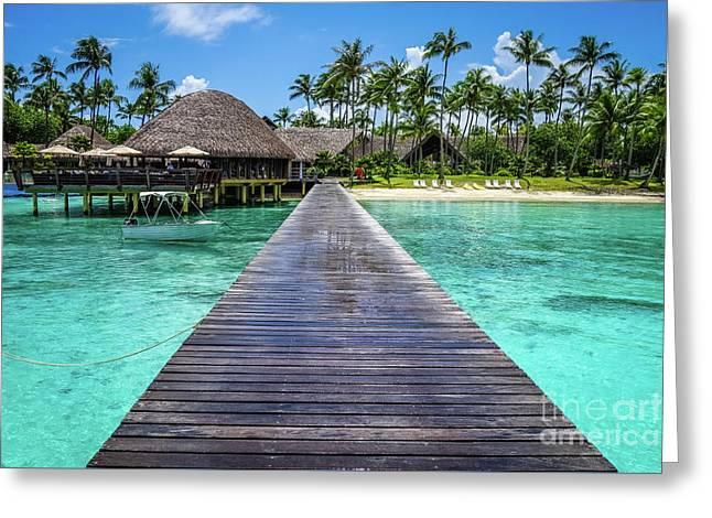 Rangiroa, Tuamotu - Paradise On Earth Greeting Card