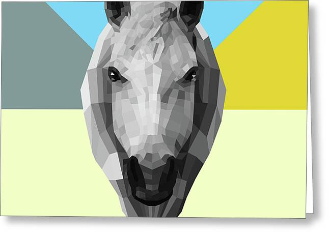 Party Horse Greeting Card
