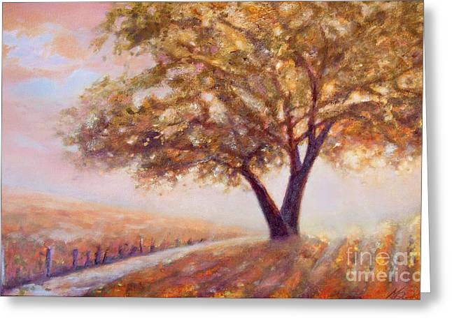 Paso Robles Oak Tree Greeting Card