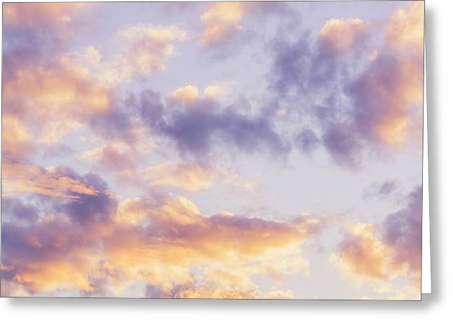 Pastel Cloudscape Greeting Card