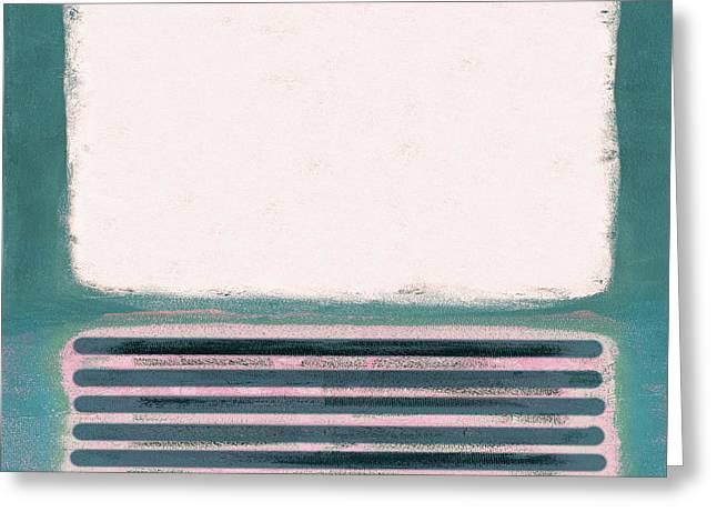 Pastel Metamorphosis I Greeting Card