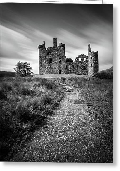 Path To Kilchurn Castle Greeting Card