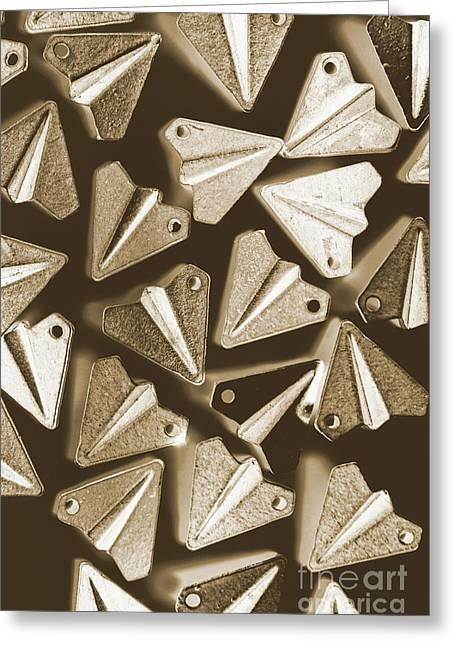 Patterned In Aviation Greeting Card