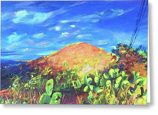 Pause On Mulholland Drive Greeting Card