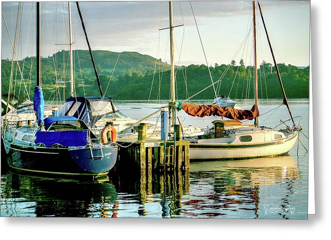 Peace In Lake Windermere Greeting Card