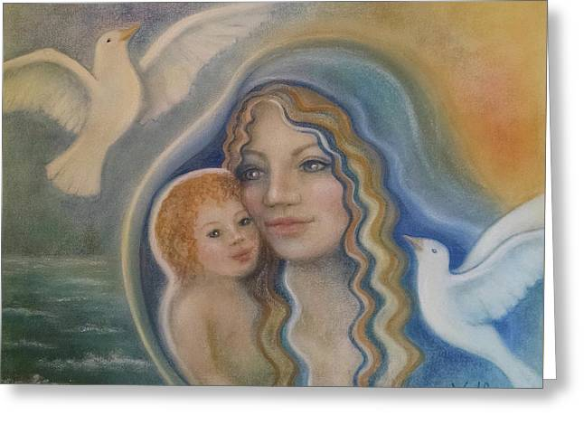 Peace Mother Greeting Card