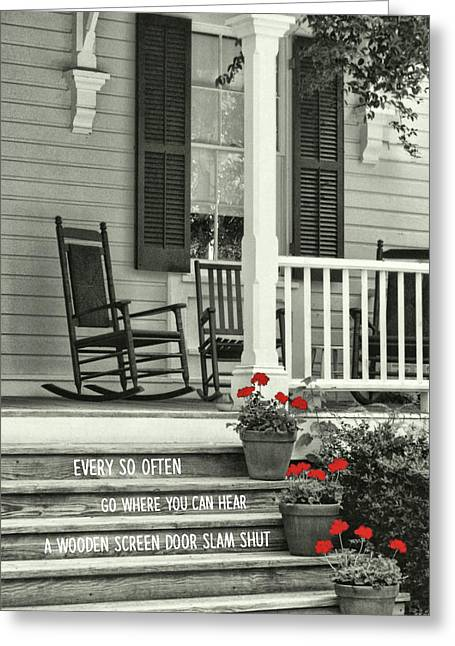 Peaceful Quote Greeting Card