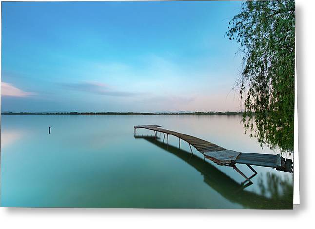 Peacefull Waters Greeting Card