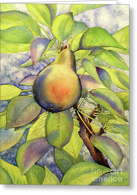 Pear Of Paradise Greeting Card