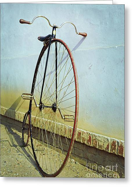Penny Farthing ,high Greeting Card