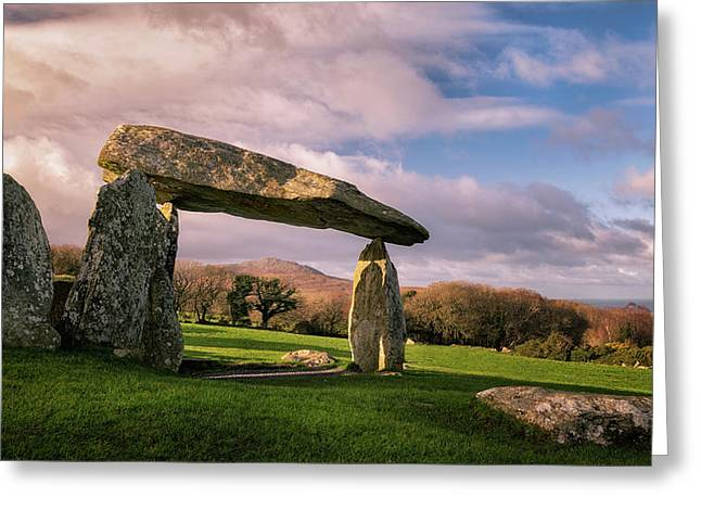 Pentre Ifan Burial Chamber Greeting Card