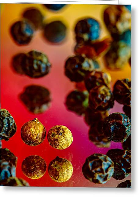 Peppercorns Greeting Card