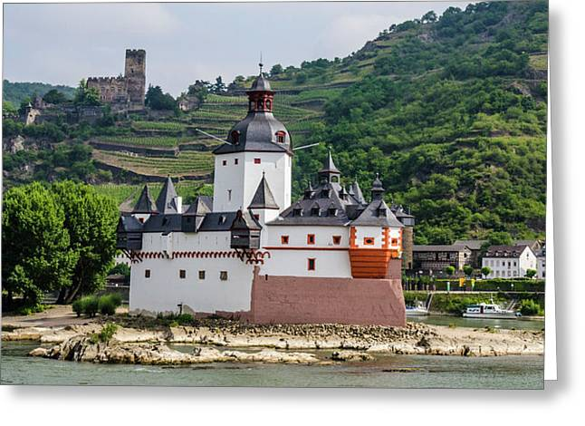 Pfalzgrafenstein Castle Greeting Card