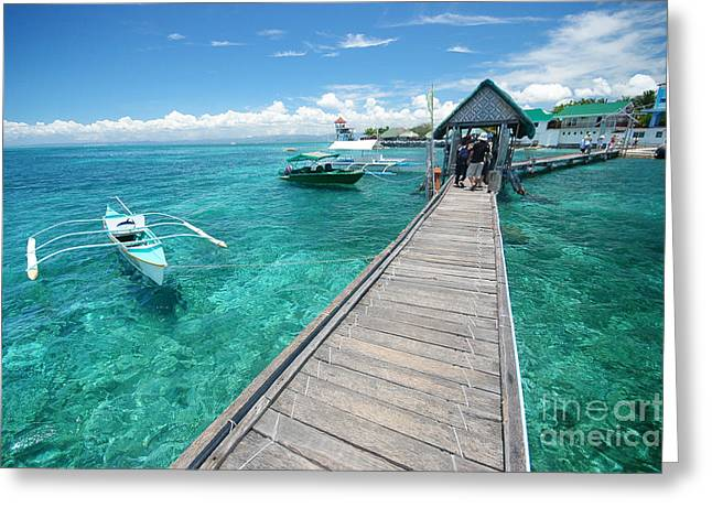 Philippines Sea Greeting Card