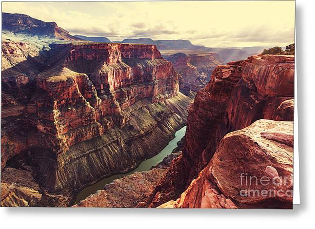 Picturesque Landscapes Of The Grand Greeting Card