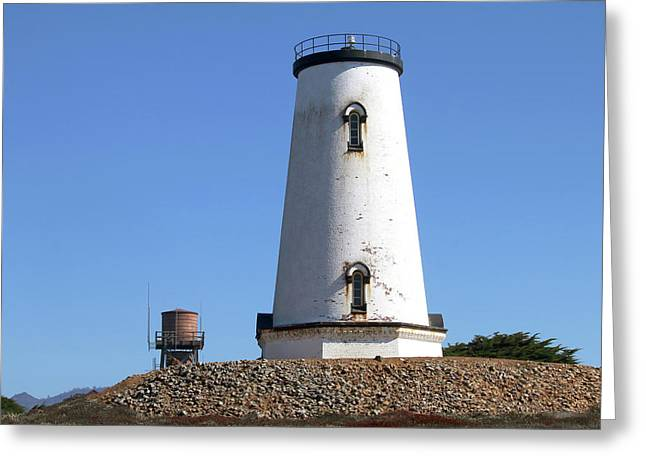 Piedras Blancas Light Station Greeting Card