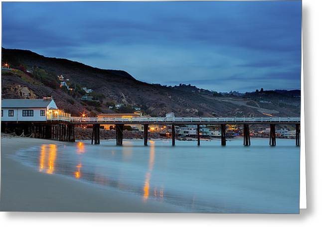 Pier House Malibu Greeting Card