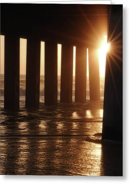 Pier Light Greeting Card