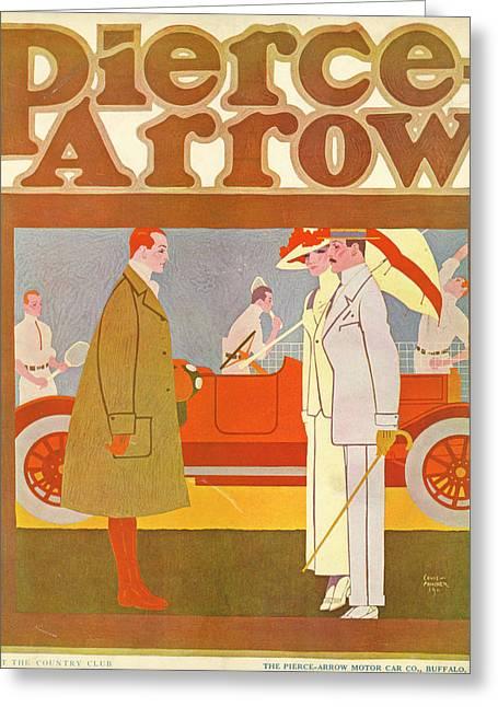 Pierce-arrow Advertisement Greeting Card