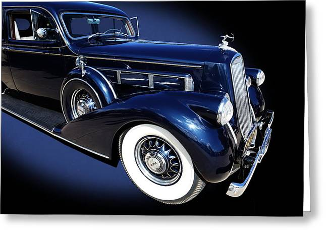 Pierce Arrow Model 1603 Limousine Greeting Card
