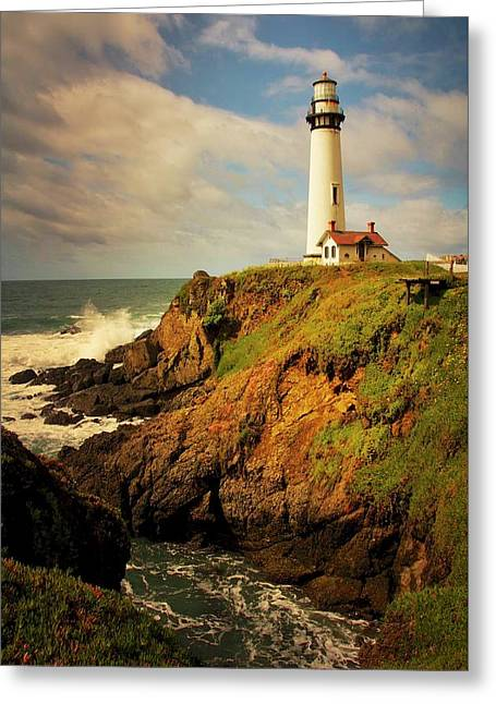 Pigeon Point Light Station, California Greeting Card