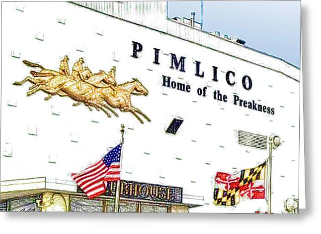 Pimlico Greeting Card
