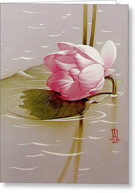 Pink Fragility Greeting Card