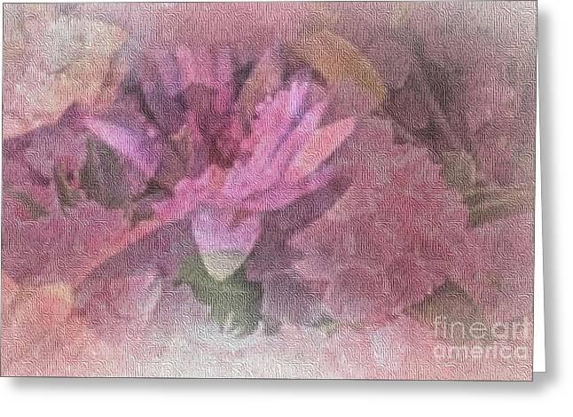 Pink Haze Greeting Card