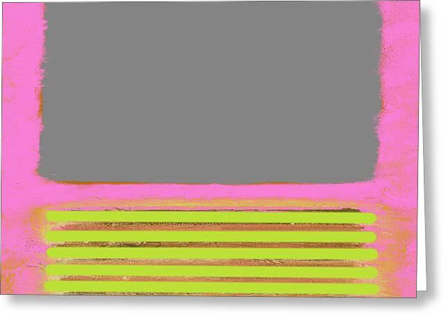 Pink Metamorphosis Greeting Card
