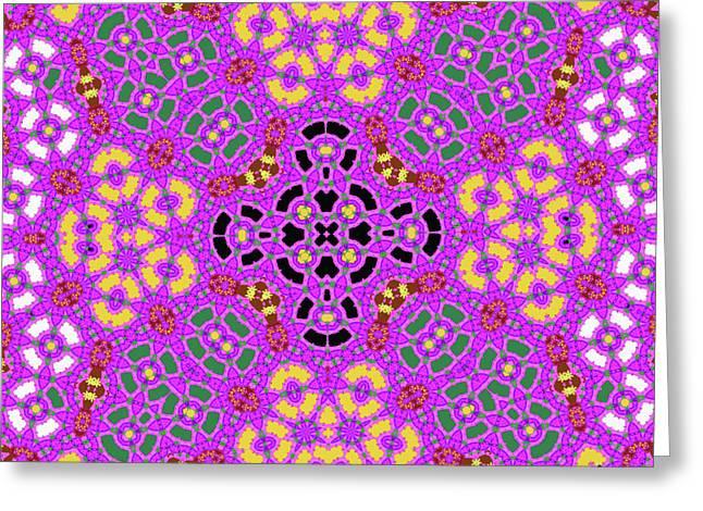 Pink1 Greeting Card