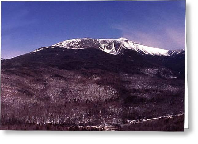 Pinkham Notch Mount Washington Greeting Card by Alan Del Vecchio