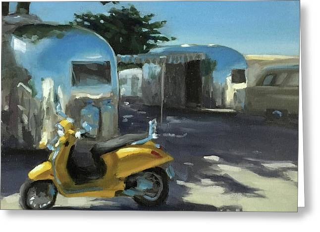 Pismo Vintage Rally Greeting Card