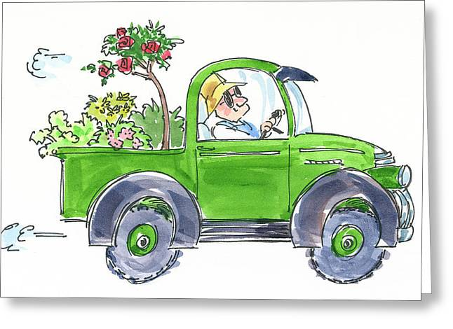 Plant Delivery Greeting Card