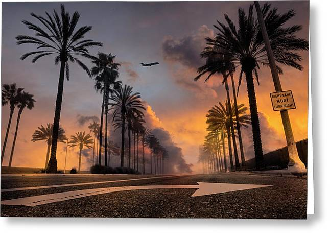 Greeting Card featuring the photograph Playa Vista by John Rodrigues