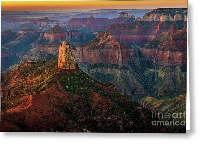Point Imperial Sunrise Greeting Card