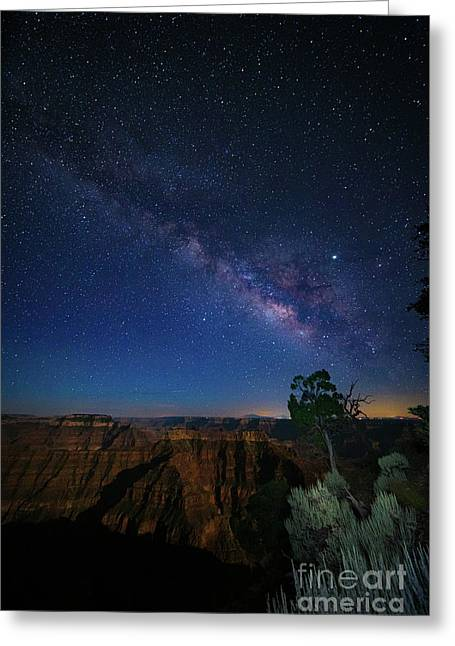 Point Sublime Nightsky Greeting Card