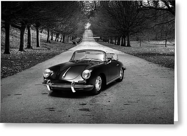 Porsche 356 1965 Greeting Card