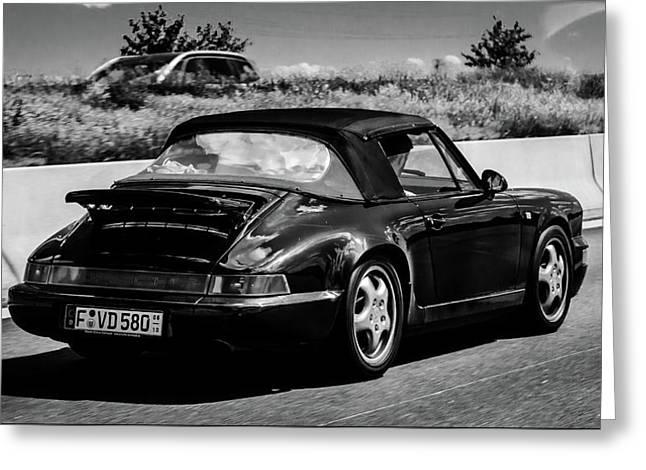Porsche 911 Greeting Card