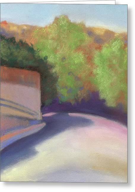 Port Costa Street In Bay Area Greeting Card