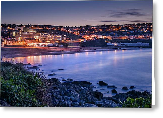 Porthmeor - Long Exposure Greeting Card