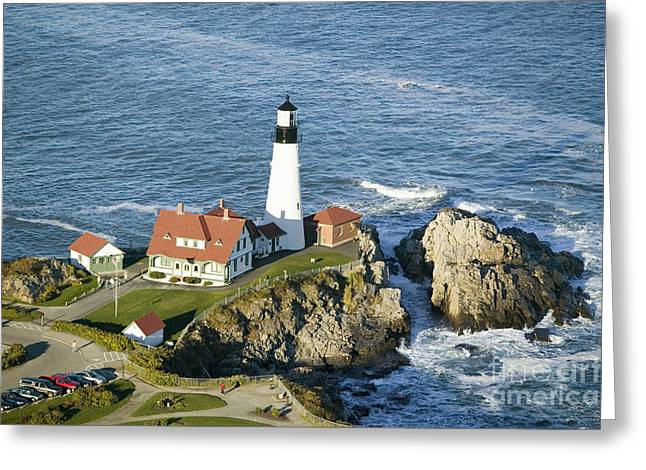 Portland Head Lighthouse, Cape Greeting Card