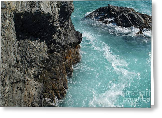 Porto Covo Cliff Views Greeting Card